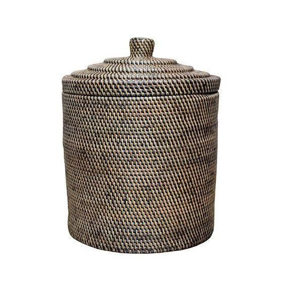 Image of Rattan Basket With Top