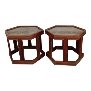 John Keal for Brown Saltman Side Tables - a Pair