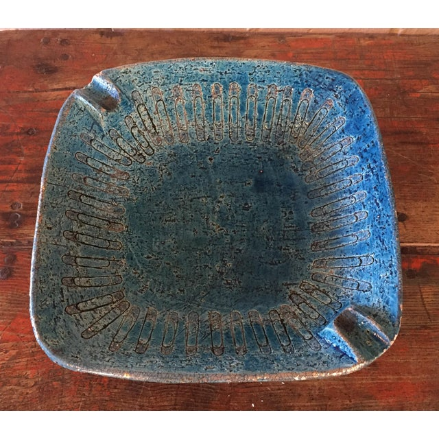 Bitossi Blue Bowl From Italy - Image 2 of 9
