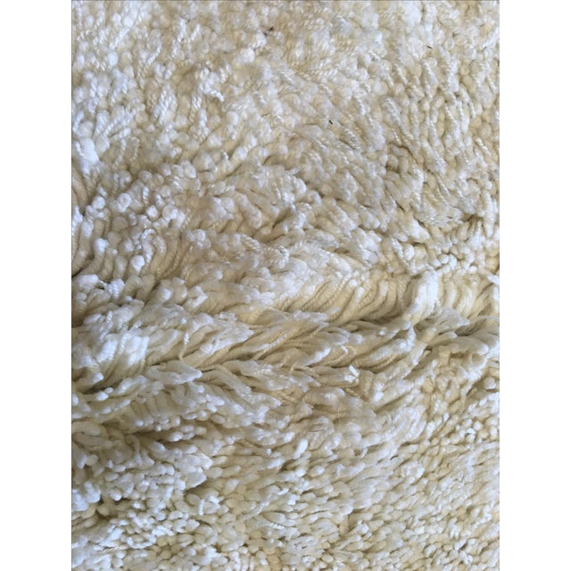 """Turkish Hand Knotted Wool Rug - 4'10"""" X 6'10"""" - Image 4 of 5"""