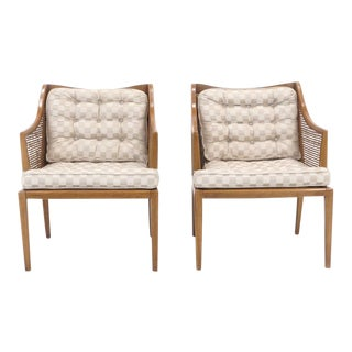 Pair of T. H. Robsjohn Gibbings for Widdicomb Arm Chairs