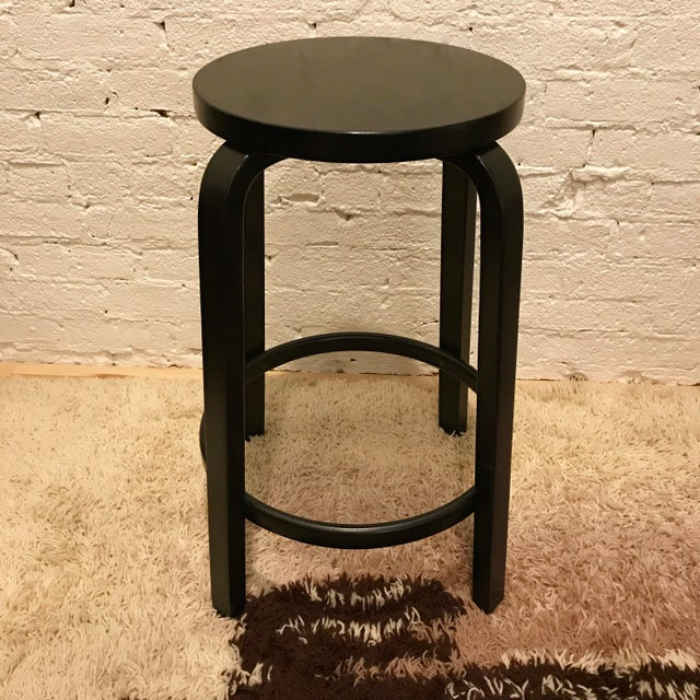 Alvar Aalto Model 64 Stools for Artek - Set of 4 - Image 3 of 10