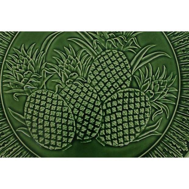Image of Portuguese Majolica Pineapple Platter