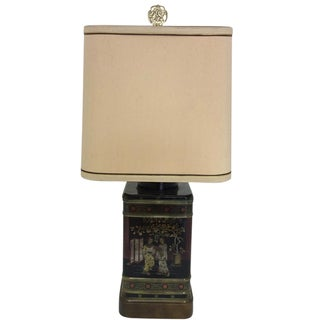 Fredrick Cooper Chinese Tea Canister Table Lamp