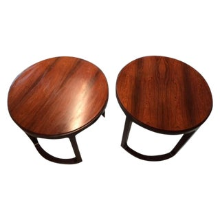Edward Wormley Dunbar End Tables - Pair