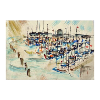 Monterey's Cannery Row Painting