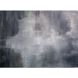 """Greys"" Original Abstract Art by Kris Gould"