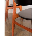 Image of Four Scandinavian Teak Dining Chairs