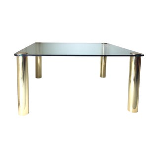 Pace Collection Solid Brass Cylinder Mammoth Table