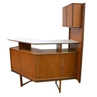 Turnidge Mid-Century Teak Cocktail Bar
