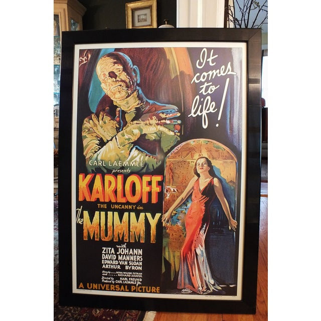 """""""The Mummy"""" Movie Poster by Morgan Litho Company - Image 3 of 11"""