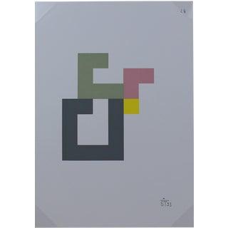 Anton Stankowski Classic Abstract Serigraph