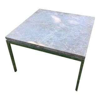 Knoll Marble Mid-Century Side Table