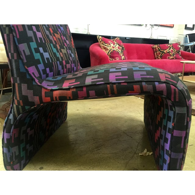 Image of Vintage Armless Lounge Chair