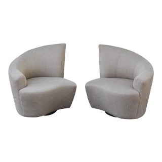 Kagan Bilboa Lounge Chairs - A Pair