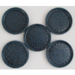 Image of West German Ceramic Coasters - Set of 5