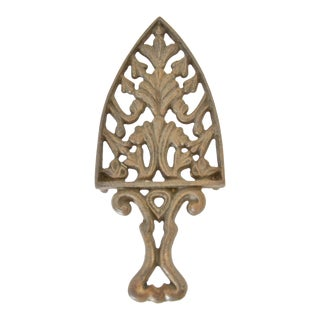 Antique Cast Iron Trivet