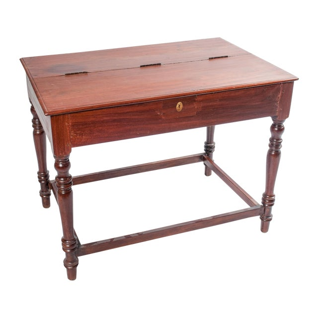 Vintage South Indian Writing Desk - Image 1 of 3