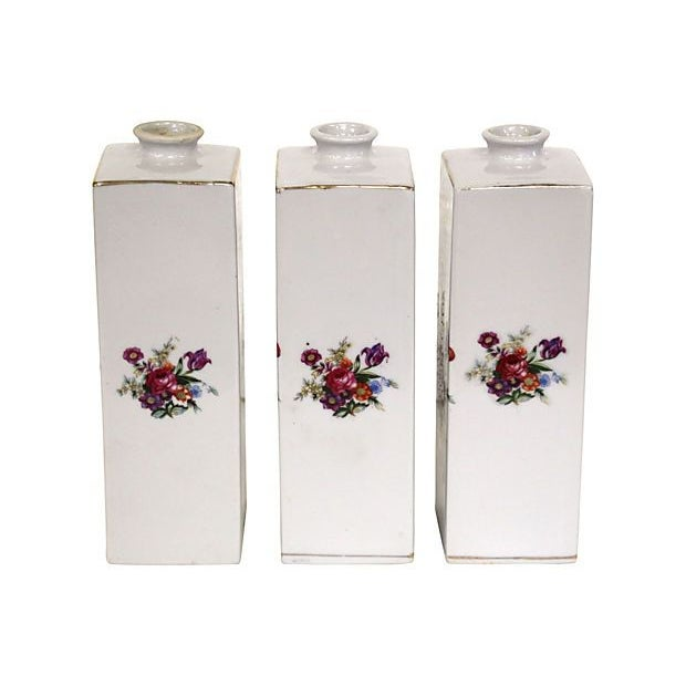 Image of Porcelain Decanters - Set of 3