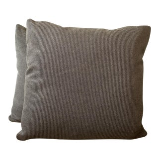 Loro Piana Cashmere/Wool Pillow Covers - a Pair