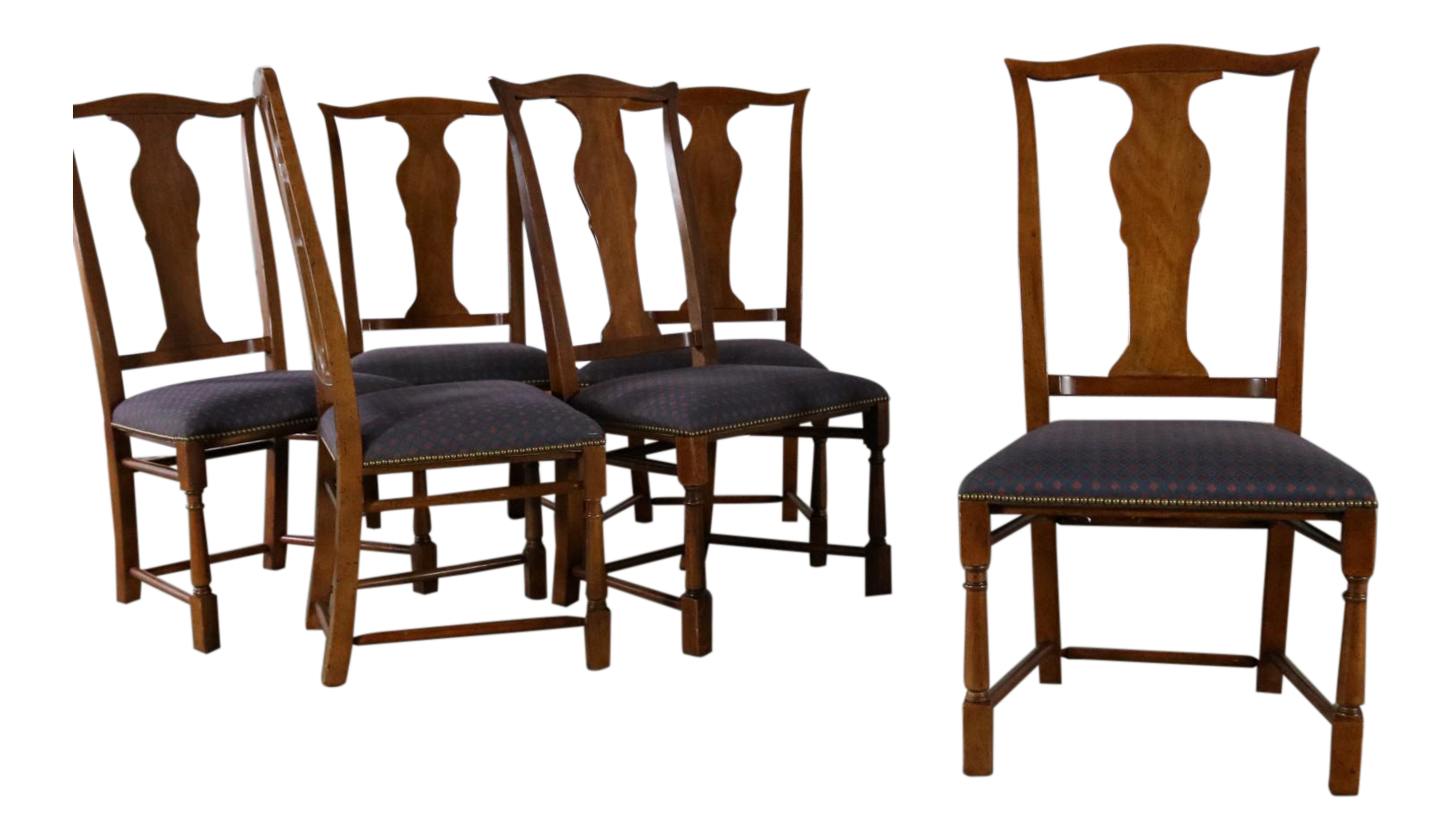 Baker Chippendale Style Dining Chairs   Set Of 6