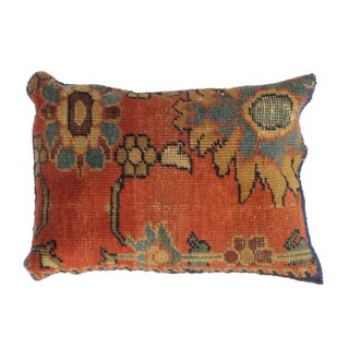 Antique Persian Rug Fragment Pillow