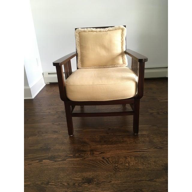 Mariette Himes Gomez Slat Back Chair - Image 3 of 6