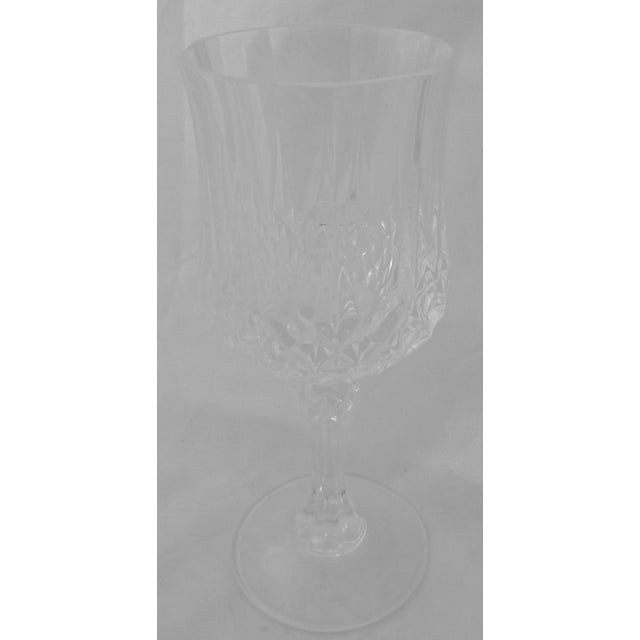 Vintage French Crystal Wine Glasses - Set of 8 - Image 4 of 6