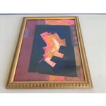Image of Erle Loran Abstract Gouache