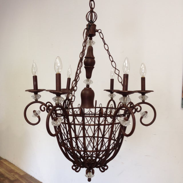 Oil Rubbed Bronze Candle Style Chandelier - Image 2 of 8