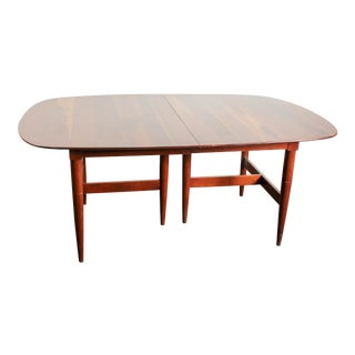 Antique Willet Transitional Cherry 9-Foot Dining Table