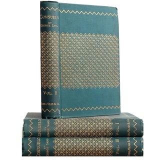 'Consuelo: Vol I-III' Books - Set of 3