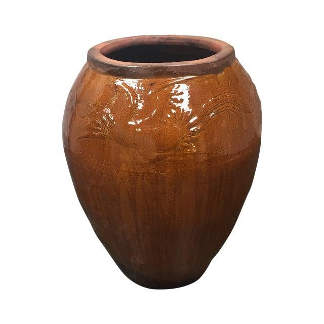 Large Glazed Finish Pottery - Image 1 of 9