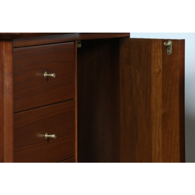 Refinished Walnut Side Tables Nightstands - A Pair - Image 9 of 11