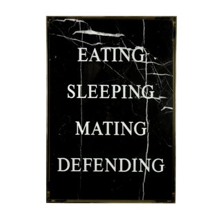 Eating Sleeping Mating Defending, 2016 Contemporary Art by Nimai Kesten