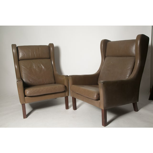 Borge Mogensen Wingback Chairs - Set of Two - Image 2 of 7