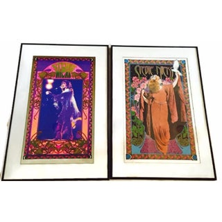 Iconic Stevie Nicks Prints by Bob Masse - A Pair