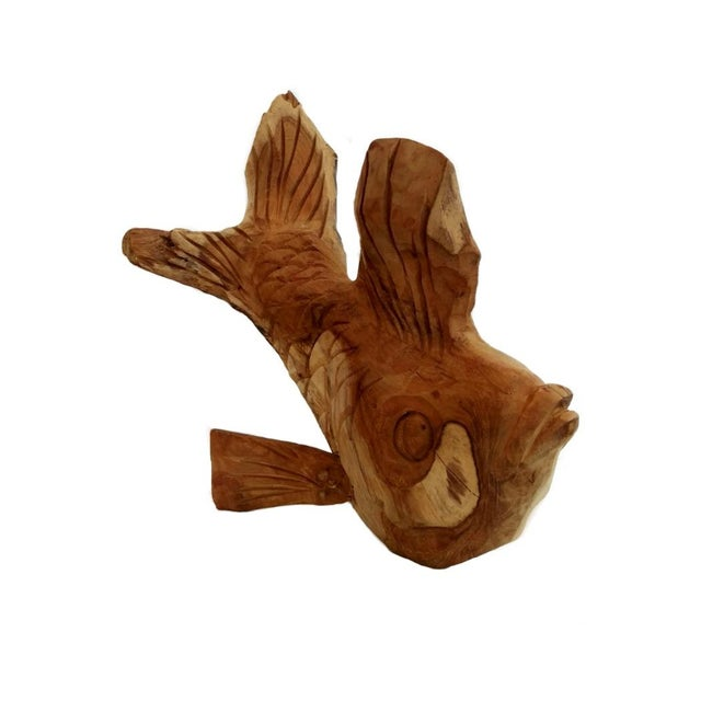 Image of Hand Carved Fish