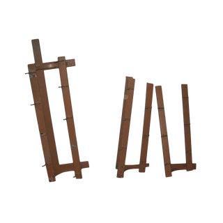 Acorn Hook Coat Racks - Set of 3