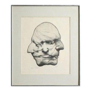 "stygian Mask"" Anonymous, Usa, 1960s"