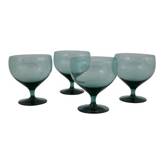 Russel Wright Morgantown American Modern Champagne Coupes - Set of 4