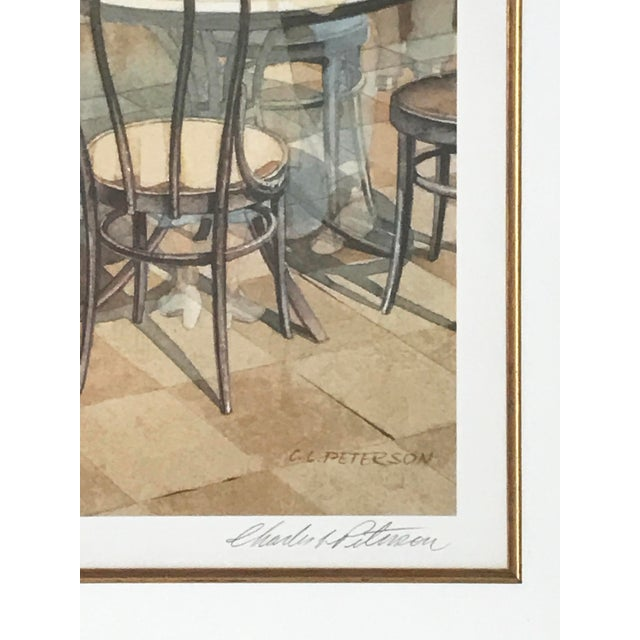 """""""Fountain of Youth"""" Lithograph by Charles (Cl) Peterson - Image 5 of 5"""