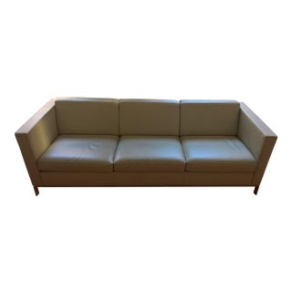 Norman Foster Walter Knoll 500 Series Leather Sofa