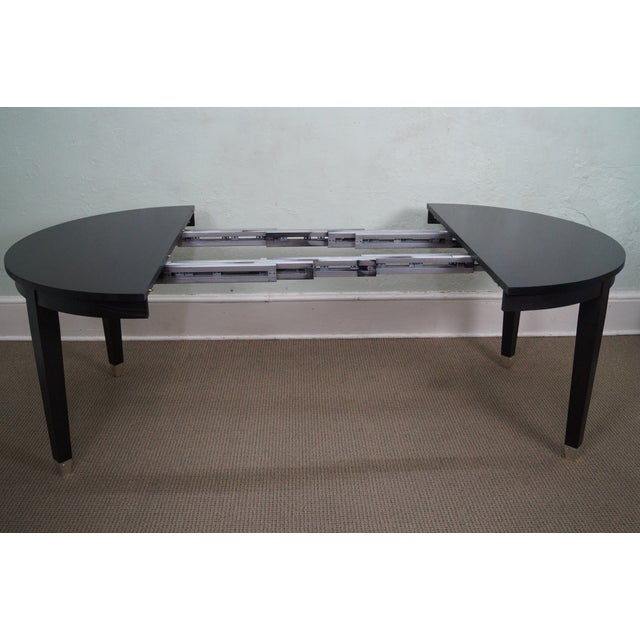 Asher Benjamin Studio Solid Oak Dining Table - Image 7 of 10