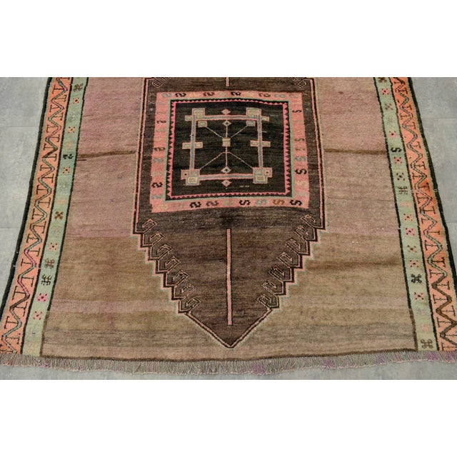 Hand Knotted Turkish Kars Rug - 5′9″ × 13′11″ - Image 8 of 11