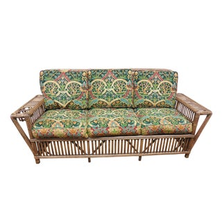 Palecek Genuine Split Reed Rattan Bamboo Sofa