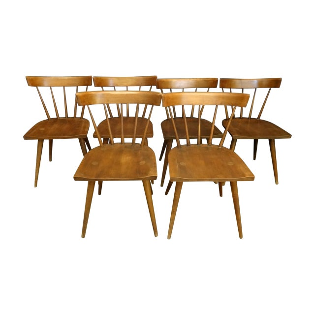 Paul McCobb Mid-Century Dining Chairs - Set of 6 - Image 1 of 6