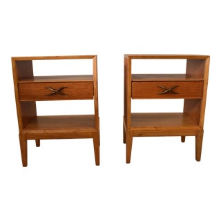 Paul Frankl Wooden Night Stands