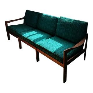 Vintage Modern Danish Teak Parlor Couch