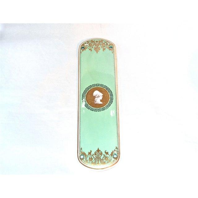 Image of Classical Porcelain Door Finger Plate